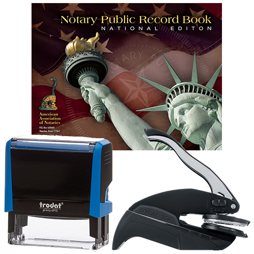 Missouri Notary Supplies Deluxe Package II