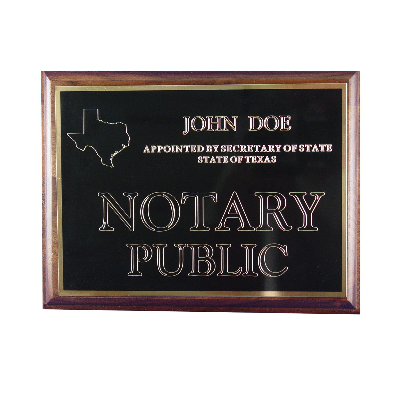 Missouri Notary Wall Sign