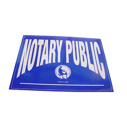 Missouri Notary Public Decal
