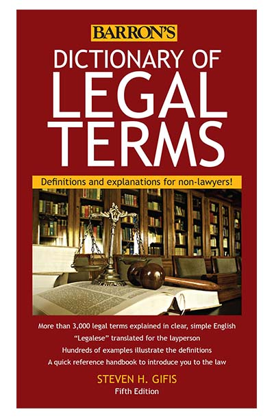 Dictionary of Legal Terms for Missouri Notaries
