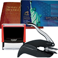 Missouri Notary Supplies Deluxe Package - Includes Trodat P4 Stamp and Choice of Embosser (MO)