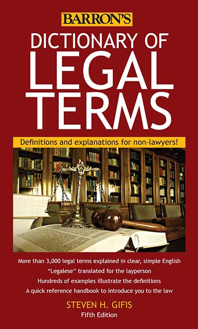 Dictionary of Legal Terms