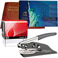 Missouri Notary Supplies Deluxe Package - Includes Cosco Stamp and Your Choice of Embosser (MO)